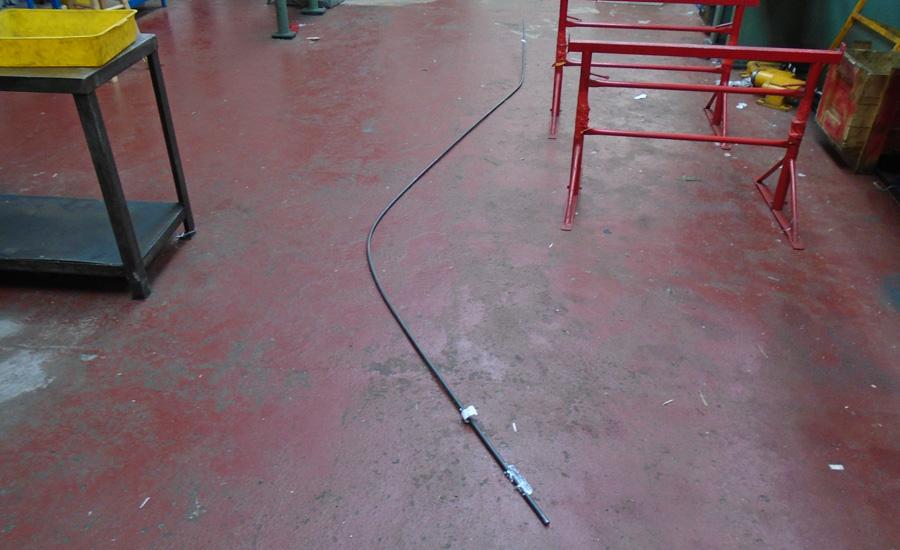 metal straightening